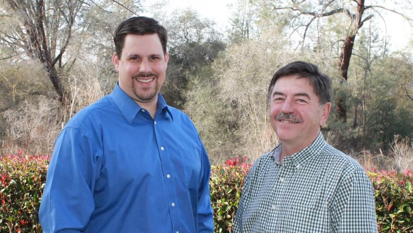 Partners Matthew Wallin and David Bennett