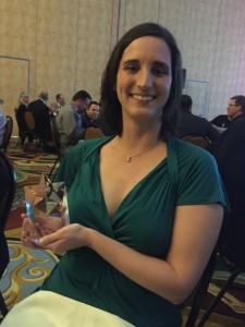 Mary Neher awarded the Trent Ralston